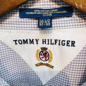 Tommy Hilfiger Shirts - Tommy Hilfiger - Vintage Shirt - Mens 16.5/32-33